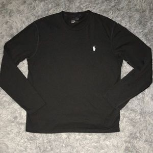 Polo Ralph Lauren Men's Black Long Sleeve Tee